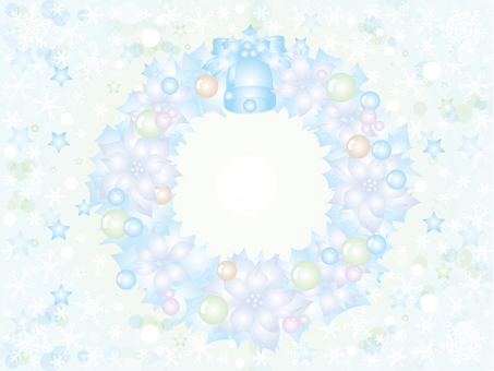 Christmas snow crystal _ lease