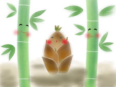 Bamboo shoot family