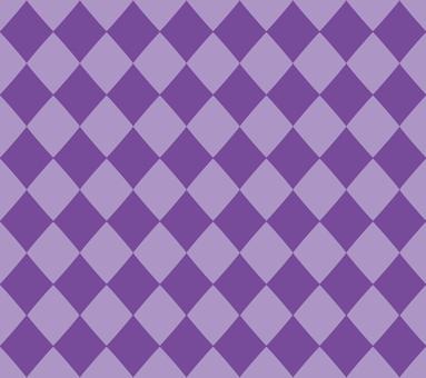 Diamond pattern (purple)