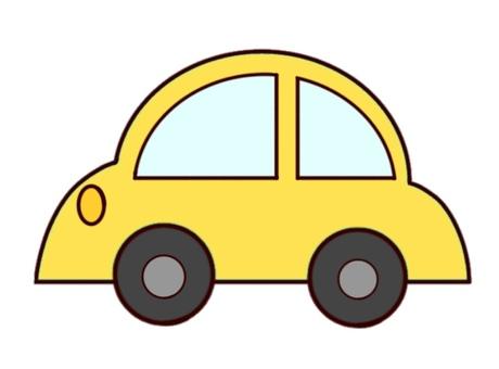 노란 자동차
