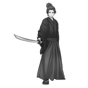 Samurai 2 (monochrome)