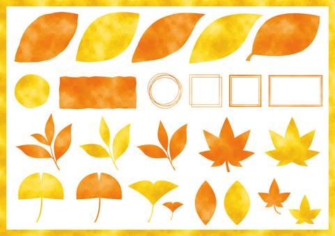 秋の葉っぱ