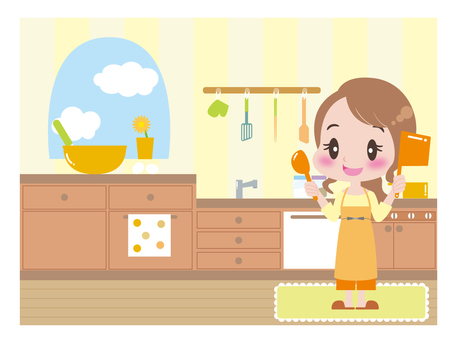 Kitchen and ladies