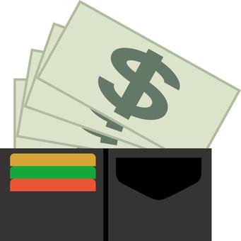 Wallet cash money payment