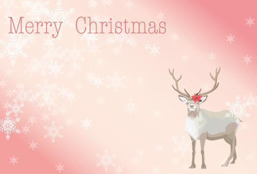 Reindeer's Christmas Card 4
