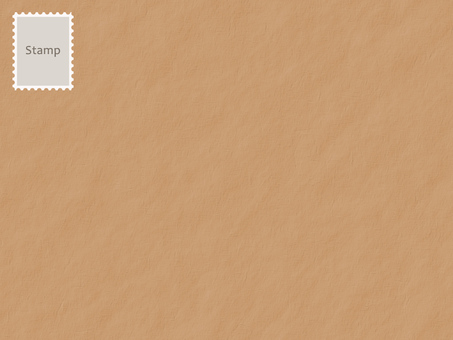 Brown envelope / stamp