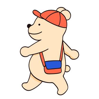 Bear to walk