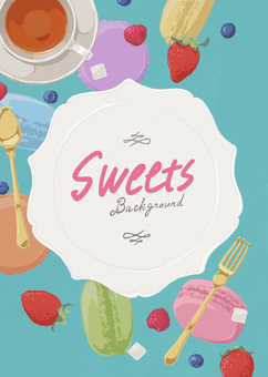 Sweets background 1