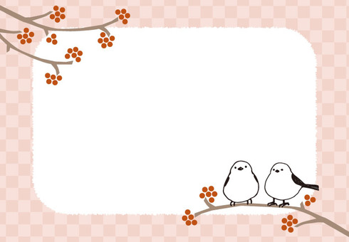 Background (Shima Ena Frame / Pink)
