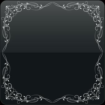 ヨーロピアンフレーム2(銀)