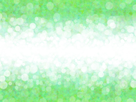 Mixing dots 2 (green and white)