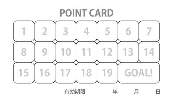 Point card (template)