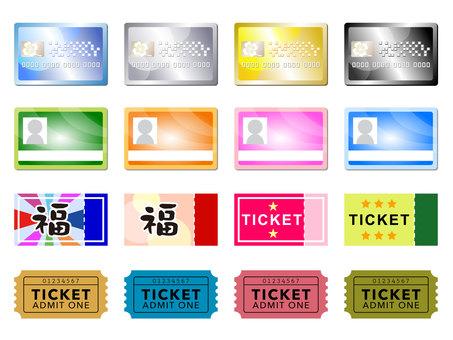 Card · Ticket MIX