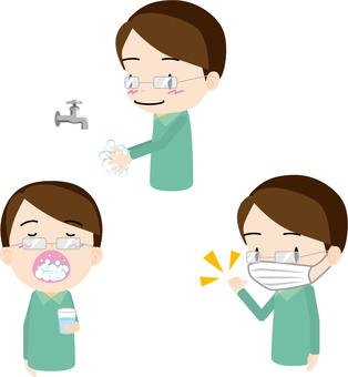 Hygiene management (dad)