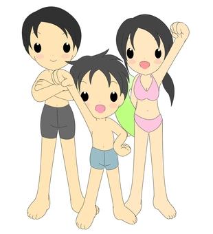 I will go to the beach!