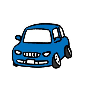Tire oblique car