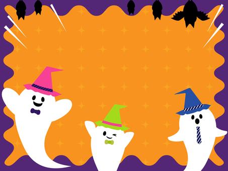 Halloween background _ orange