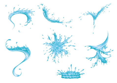Splashes illustration