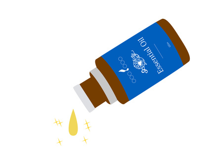 Aroma bottle (blue)