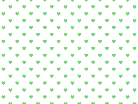 Heart pattern background 009 green