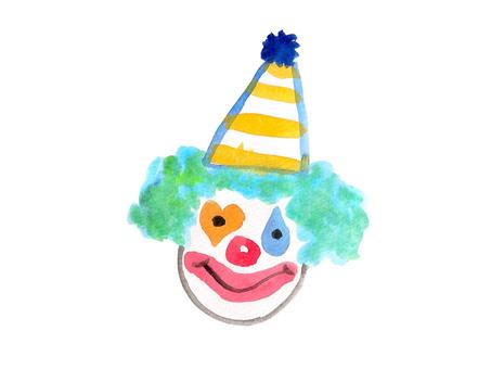 Girls clown