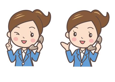 Business women pose 4-2