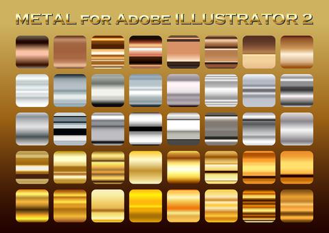 Metal color gradation set 2