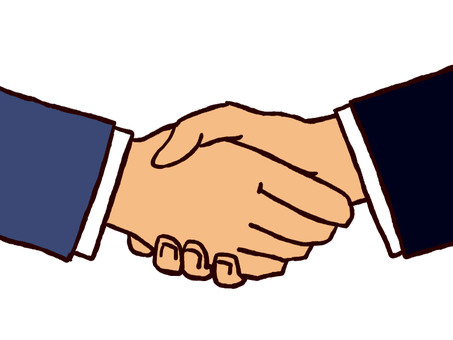 Handshake (business)