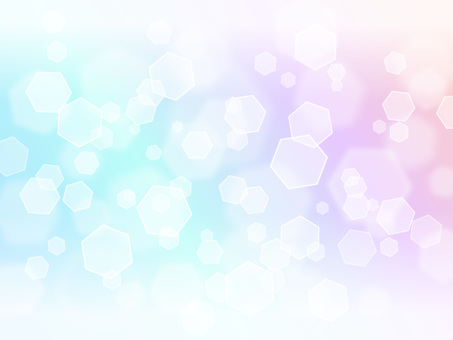 Hexagonal light · rainbow color