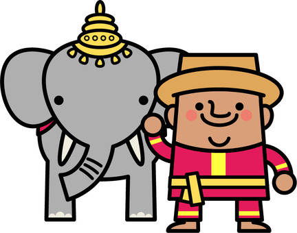 Uncle fairy elephant use