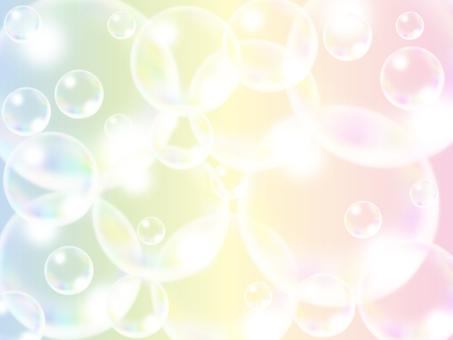 Soap bubble color