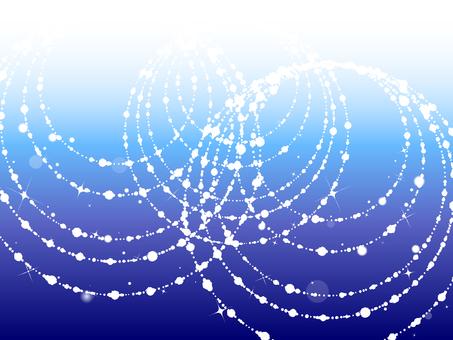 블루 원형 빛 배경