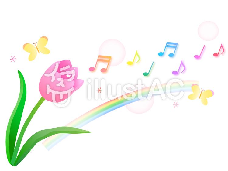 春の音楽イラスト No 399047無料イラストならイラストac