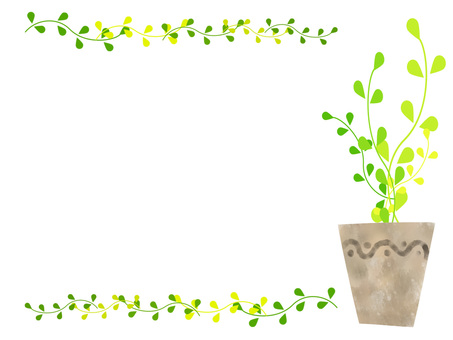 Plant plant frame ver 02
