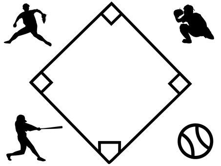 Baseball Frame / Frame 1