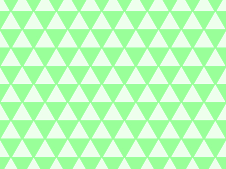 Triangular green wallpaper