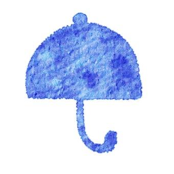 Weather single item umbrella watercolor style