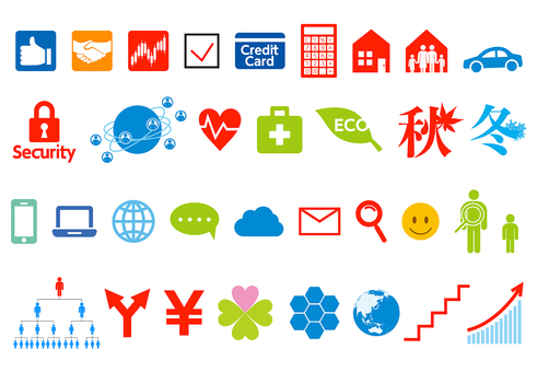 Business · family · net system icon set