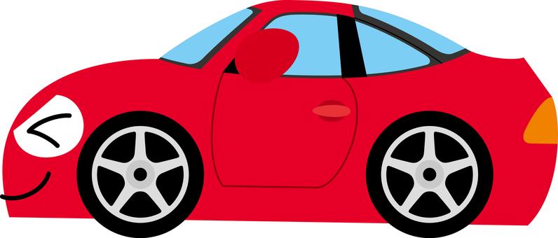 Car sports car happy sideways