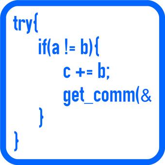 Square icon source code