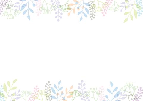 植物のフレーム-3