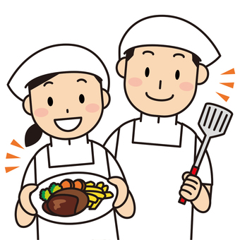 Cooking / cooking aid staff