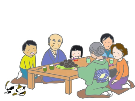 Grandma's rice cake