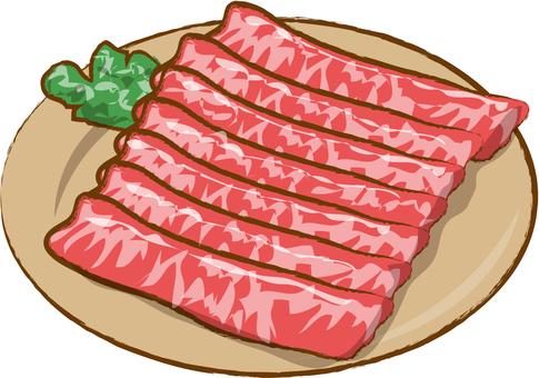 For beef shabu-shabu