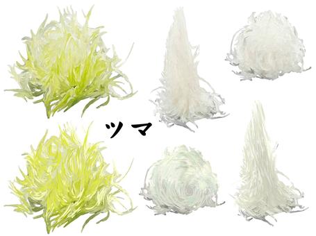 Sushi Tsuma (Leaf / Vertical / Horizontal)