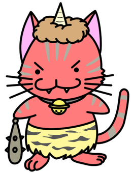 악마 고양이 (적귀)