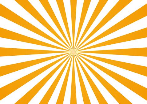 Focus line <center / orange white>