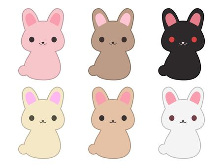Usagi · different colors