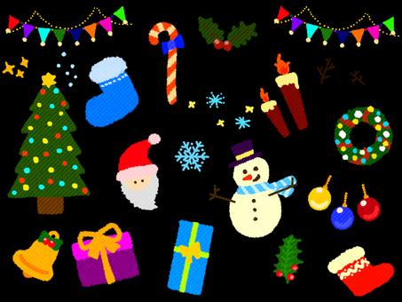 Christmas set (fabric)