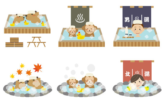 Travel 04 (hot spring set 02)
